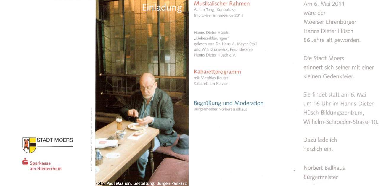Hanns Dieter Hüsch Treffpunkt Und Gästebuch Für Alle